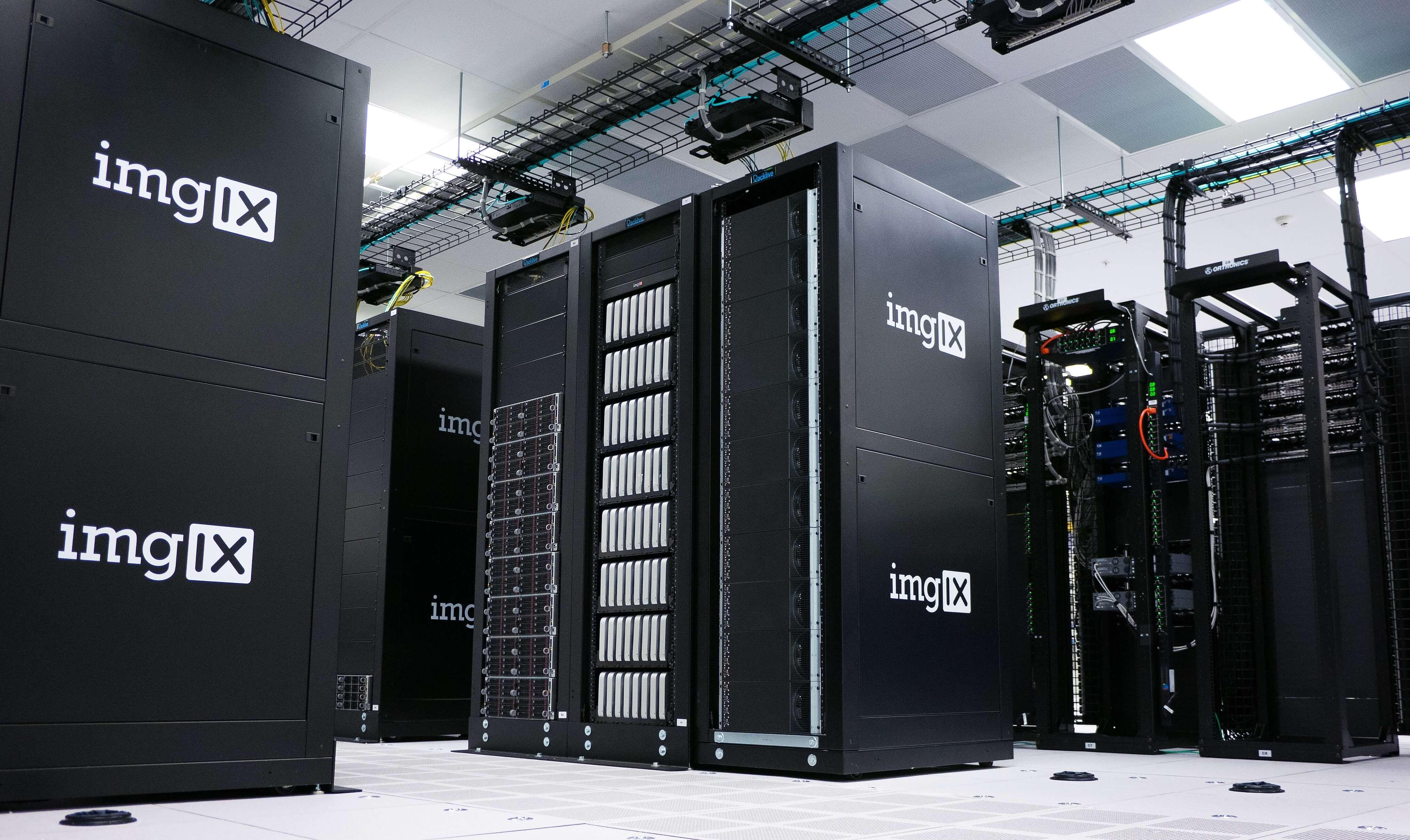 Servers in rack